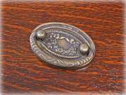真鍮製ループハンドル 73×51