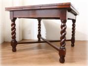 ツイスト ラージドローリーフテーブル