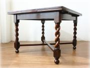 ツイスト ラージサイズ ドローリーフテーブル