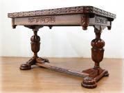 トップクオリティ カーブドオーク バルボスラージドローリーフテーブル
