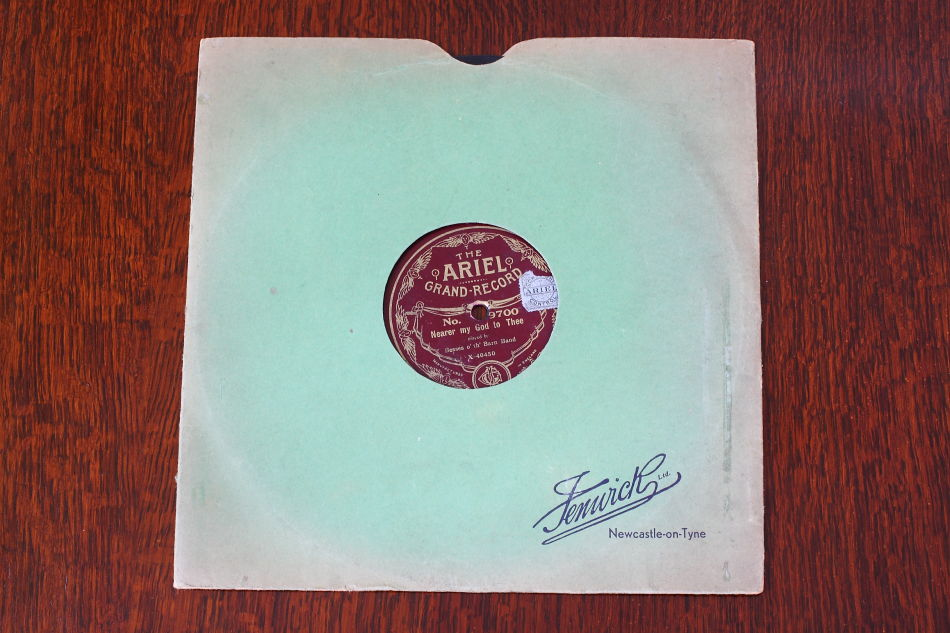 SPレコード盤 10インチ25cm ~Besses o'th' Barn Band~