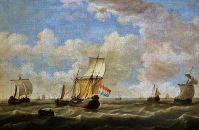 Shipping off Ramsgate / Oil Painting アンティーク家具・照明の専門店|デニム アンティーク ファニチャー