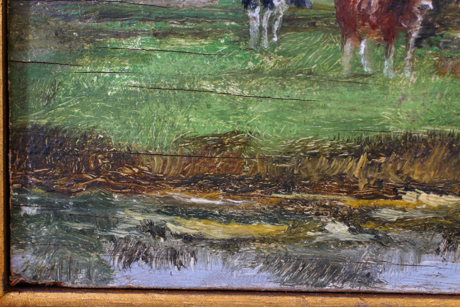 Halvergate Marshes / Oil Painting