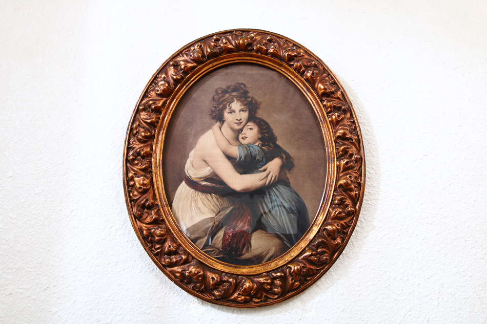 Madame Vigee LeBrun and Child / Art Print