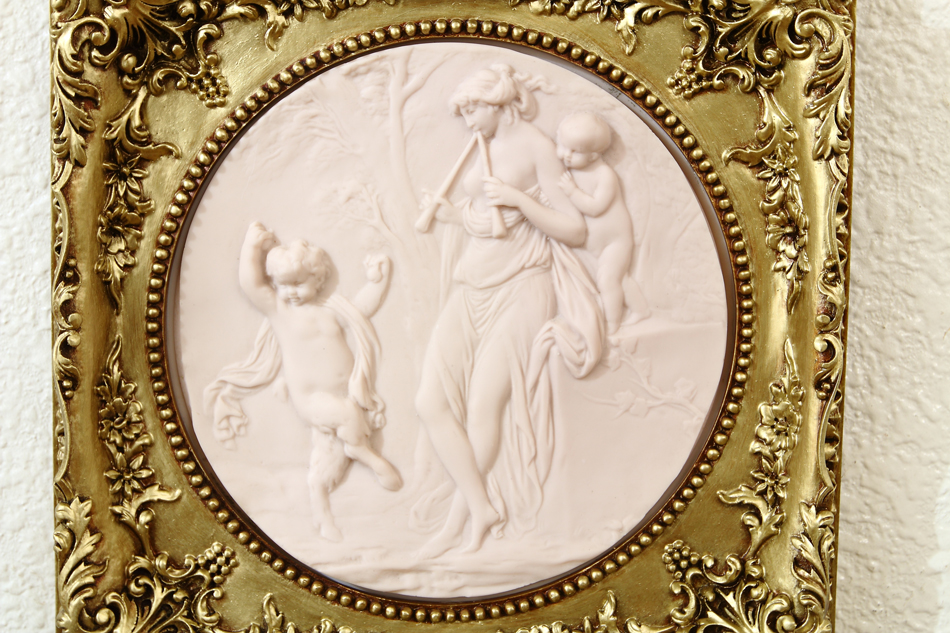 Baby Satyr / plaque picture
