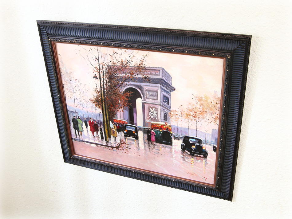 Arc de Triomphe / Oil Painting