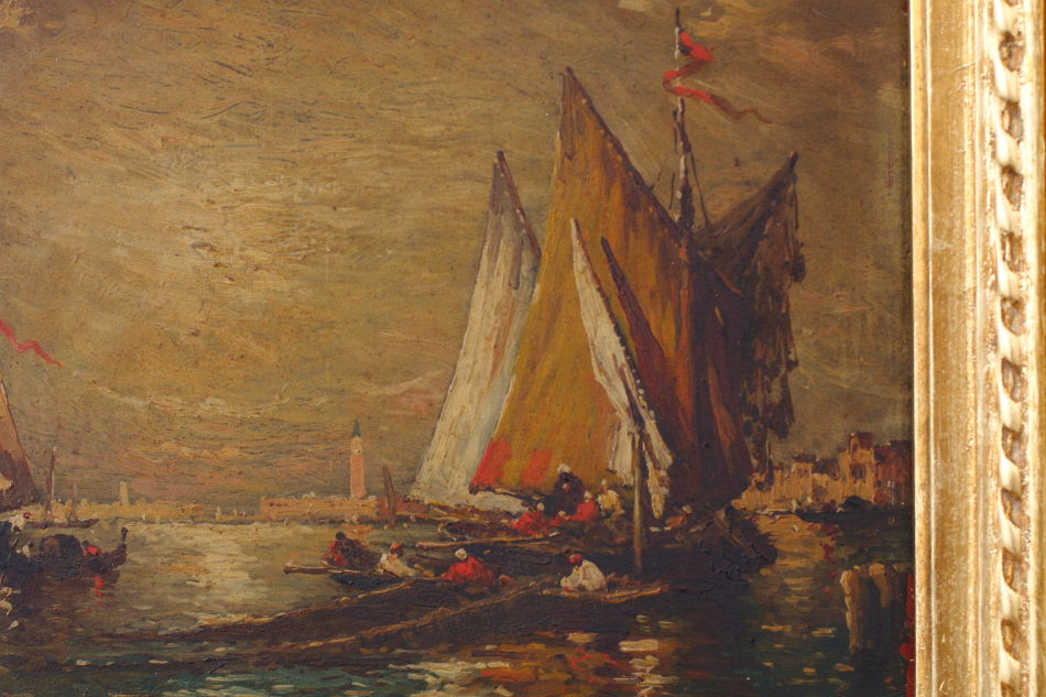 Vista di Venezia / Oil Painting