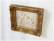 A pair of cherubs / plaque picture