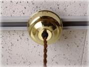 真鍮製 照明器具配線カバー