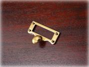 真鍮製カードフレーム プルハンドル