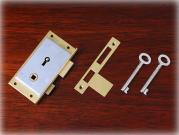 真鍮製ワードローブロック キーセット22 ライト/左開き用 89×47