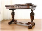 クオリティオーク グレープバルボスドローリーフテーブル