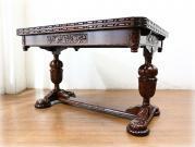 クオリティオーク バルボスドローリーフテーブル