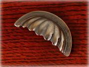 真鍮製プルハンドル/シェル 92 アンティークフィニッシュ/リヤフィキシング