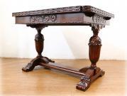 ヘビーオーク バルボスドローリーフテーブル
