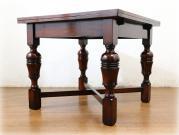 クオリティオーク バルボスレッグドローリーフテーブル
